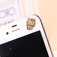 Wholesale Zero profit Korean cartoon K gold plated mobile phone radiation stickers Computer stickers Mobile owl stickers variety of optional