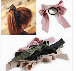 Wholesale Hot New Cheap Fashion Hair Accessories Ribbon Bowknot Elastic Hair Band for Women