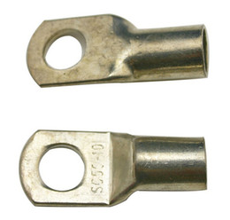 Wholesale Freeshipping Brass Crimp Terminal Crimpable Ring Terminals Norms SC For Battery Cable Lugs Hole