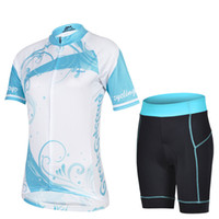 Wholesale ladies cheji women compression short team hot sale short cycling suit men mountain bike clothing blue and white