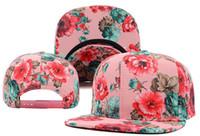 Ball Cap Red Man Blank Floral Script Snapback Hats Classic Men & women's Designer Flower Snapback Many Styles Free Shipping