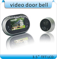 Wholesale 3 inch Display Peephole Viewer Video Door Bell LCD Digital video doorbell Viewer Door Peephole Security Camera Monitor MP