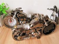 Wholesale 2014 smart motorbike clock brilliant design