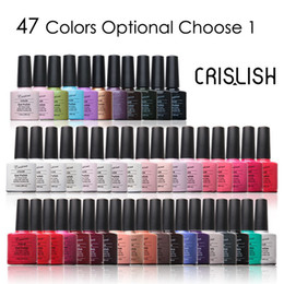 Wholesale 61 Colors You Choose One Crislish Gel Polish Soak off Long Lasting Professional Nail Beauty ml fl oz drop shipping