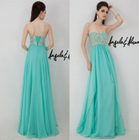 Cheap Reference Images Prom Dresses 2014 Best Sweetheart Chiffon Beaded Prom Dresses