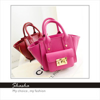 Wholesale Whole sale new style famous brand women handbag designer customised messenger bag leather tote high quality low price candy colors