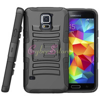 Wholesale Samsung Galaxy S5 Case Cover Future Armor Holster Protector Combo All Carriers