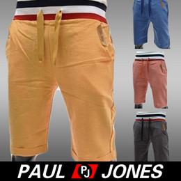 Wholesale PJ Korean Men s Causal Slim Fit Capris Cropped Shorts Short Pants CL5547