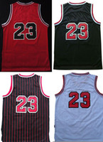 Wholesale Chicago Michael Jordan Throwback Basketball Jerseys With Stitched Name and Number