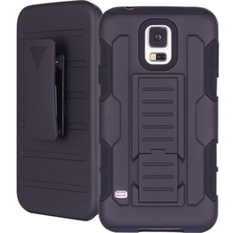Wholesale For Samsung Galaxy S5 Future Armor Impact Hybrid Hard Case Cover Belt Clip Holster Kickstand Combo Rugged Shockproof