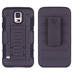 Wholesale For Samsung Galaxy S5 Future Armor Impact Hybrid Hard Case Cover Belt Clip Holster Kickstand Combo