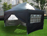 Wholesale Waterproof x15 EZ Pop Up Party Tent Canopy Gazebo Black Free Carry Bag to United States