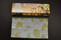 Wood banana flavored - 78MM hornet herb rolling paper banana Flavored PAPERS rolling machine GRINDER CHOCOLATE LEAVES booklet glass bong
