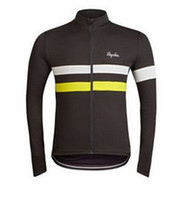 Wholesale 2014 New rapha spring outdoor long sleeve cycling jersey bicycle sports clothing man Bike Riding Shirts