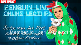 Wholesale Penguin Magic John van der Put Penguin Live Online Lecture magic teaching video close up magic send via email