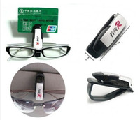 Cheap Car Vehicle Visor Sunglass Eye Glasses Holder Clip Eyeglasses Holder clip Oculos De Sol Clips 50pcs lot