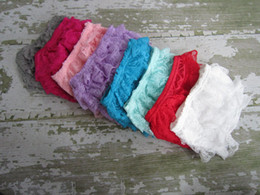 Wholesale Cheap Solid Clothes - Hot sale newborn clothes kids bloomers Baby Solid Lace Bloomer Cheap Baby Bloomer Infant ruffle shorts