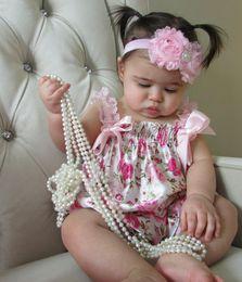 Printed baby romper Pink Vintage Floral Satin Bubble Knickers or Playsuit Baby Girl Romper Photo Prop Vintage Look