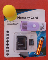 class 10 micro sd card reader - All In One Card Reader With Free Korean Class Real Capacity GB Micro sd Card Flash TF Card Stylus