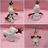 Wholesale Frozen Olaf Best Gift Cartoon Movie Plush Toys For Sale cm Cotton Stuffed Dolls Detachable can be combined