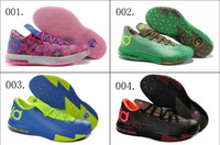 Wholesale 9 Colors New Model Hot Sale Air Kevin Durant KD VI Children Boys Girls Kids Basketball Sport Footwear Sneakers Trainers Shoes