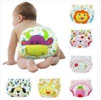 Wholesale 2014 Sassy Baby s boy girl infant toilet pee potty training pants cloth diaper children s underwear Baby Nappies