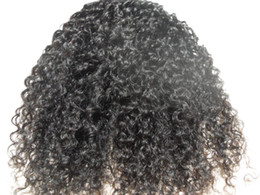 Wholesale new star malaysia kinky curly hair weaves afro hair products natural black human hair extensions1 bundles one beauty weft