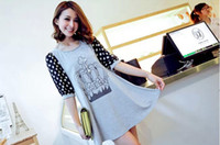 Wholesale Maternity summer fashion maternity dress lace the pregnant woman skirt with short sleeves