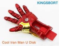 Flawless Avengers Iron Man  cheap pen drive - HOT Flawless Avengers Usb Flash Memory Stick Iron Man Hand Usb GB USB Flash Drive Memory Drive Stick Pen with Cheap Price