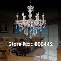 Wholesale Hot Sale Luxury Crystal Chandelier Ceiling Lamp Candle Lights TK0480