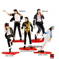 PVC best moving boxes - Best Moment of Michael Jackson of Figure Classic Dance Moves Box Set