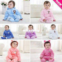 Boy Summer Hooded Wholesale-IVE 2014 Baby Rompers Baby Girl Clothing Kids Cool Jumpsuits Baby Boy One-pieces Newborn Jumpsuits IU709