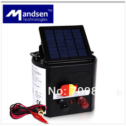Wholesale 8KM Solar Electric Fencing Energiser Charger with Adjustable Solar Panel