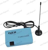 DVB-T  Receivers  LLFA496 Digital DVB-T Receiver Tuner FreeView TV Box VGA AV TV CRT LCD Monitor