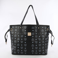 Wholesale 2014 hot Fashion High quality brand design MCM handbags women shoulder bags totes purses ladies leather bags