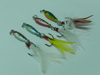Wholesale Hot sales color style lead fish lure g laser fishing lure
