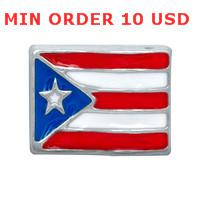 puerto rico - PUERTO RICO FLAG charms for memory living locket