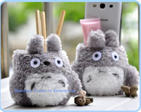 Wholesale 12PCS Kawaii NEW Japan TOTORO Office DESK Organizer Holder BOX Desk Pen Pencil amp PHONE Storage Holder BOX RACK Case Pouch