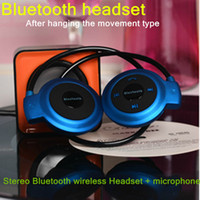 For Apple iPhone Bluetooth Headset V2.1+EDR CAL S II Bluetooth Headset Mini 503 after hanging motion stereo Bluetooth wireless Headset + microphone wholesale