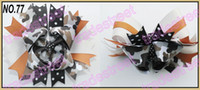 animal stack - fashion large layered boutique hair bows stacked animal print bows