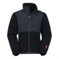 Wholesale New Brand Women Fashion Fleece Pink Ribbon Jacket Black White Outdoor Recreational Sports Windproof Outerwear Mix