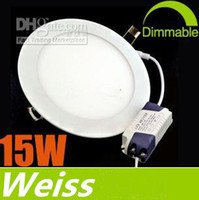 85-265V ac power panels - Dimmable Ultra Bright W LED Panel Lights SMD2835 Recessed Lamps AC V Warm Cool Nature White With Power Supply Ceiling Down Lights