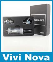 3,5 ml Vivi Nova Conjunto Vivi Nova atomizadores Clearmomizer para el ego del ego-c del ego-t del ego-w e cigarrillo electrónico Salud y DHL libre barato