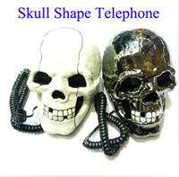 Wholesale Skull Shape Telephone Novelty Telephone Halloween Gifts Fast delivery