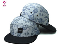 Ball Cap multicolor Man 50pcs lot New Adjustable Ball skateboard Caps Huf 5 Panel hats hip hop snapback cap baseball cap snapbacks