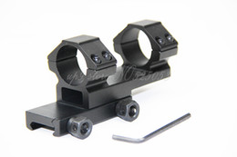"""Tactical Integral 25.4 1"""" Ring Mount Rifle Scope Weaver Picatinny 20mm Rail Mount"""