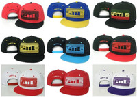 Wholesale Retail Adjustable Ball skateboard Caps WATIB hats hip hop snapback cap Wati B baseball cap snapbacks