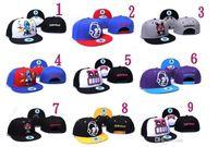 Wholesale WATI B Hip Hop Hat Booger Kids Kidrobot Coke Boys Cayler Sons Snapback Hats Caps Fuckdown Swagg Cap