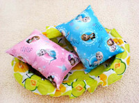 Wholesale In Stock Frozen Elsa Anna Princess Pillow Cushion for Kids Cartoon Snow Queen Sleeping Naps for Adults