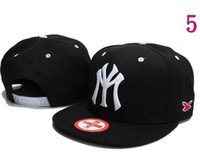 Wholesale NEW NY Snapback Caps Men Basketball Hip Pop Baseball Cap Adjustable Snapbacks hats hat